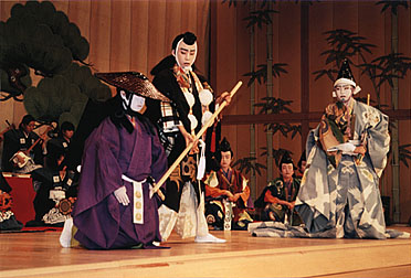 a history of japans oldest theatre forms kabuki and bunraku One of the three major classical theaters of japan, with kabuki and bunraku puppet theater, noh is a poetic dance-drama performed in ancient language with highly ritualised movements along with kyogen farce, it is the oldest form of professional theater still performed today its history goes back to the 14th century.